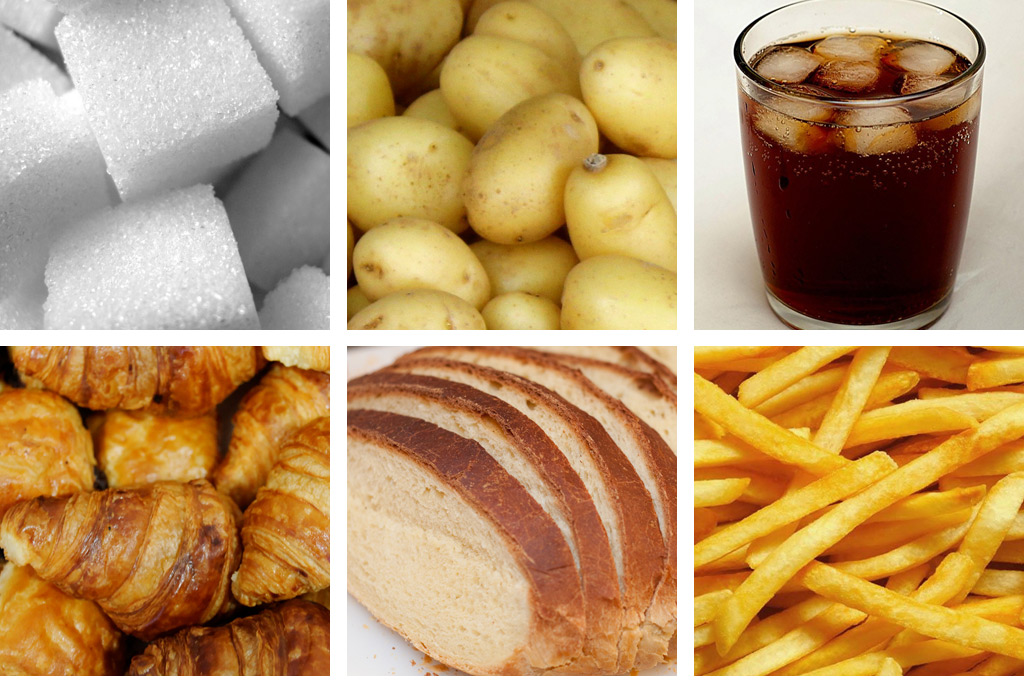 Carbohydrates haleo for Cuisine examples